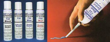 SAF-T-LOK RTV Silicone Sealants in Pressurized Cans