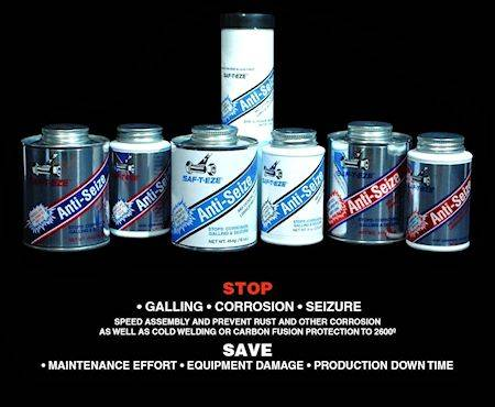 SAF-T-EZE Anti-Seize Product Line